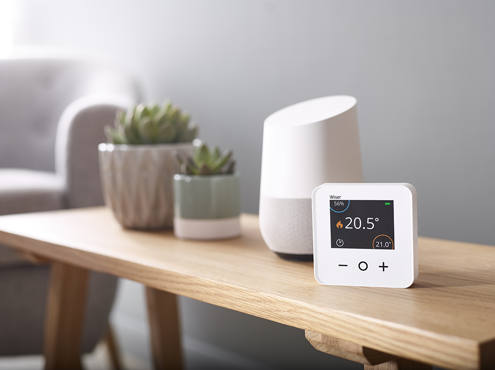 Wiser products are compatible with Google Home