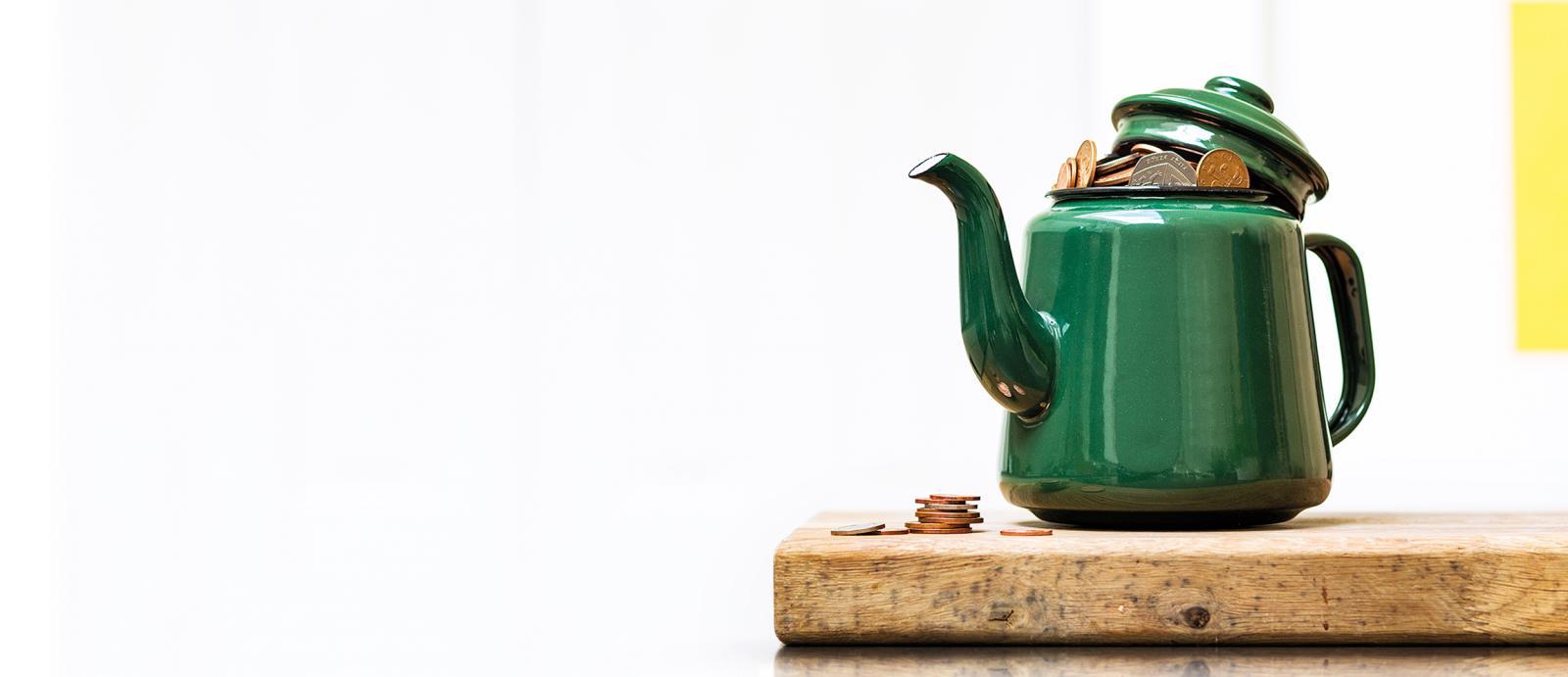 Green kettle 2