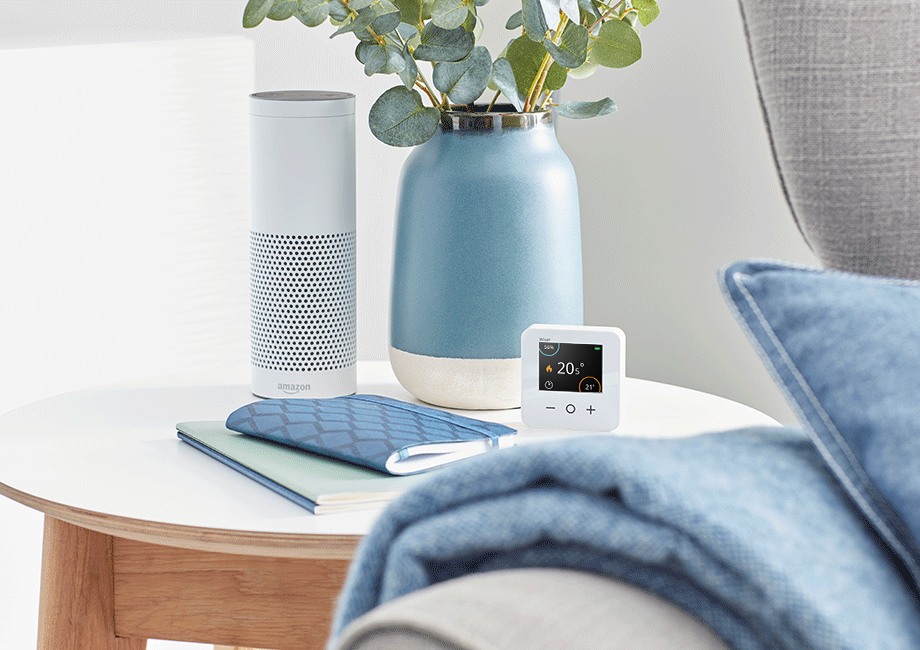 alexa_voice_compatible_thermostat_google_home_control
