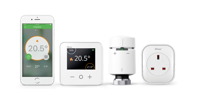 Wiser smart heating products with the new smart plug