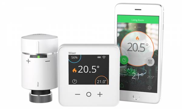 Wiser Thermostat, TRV and iPhone