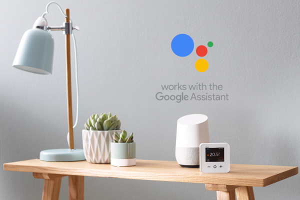 Wiser smart room thermostats working with Google Assistant
