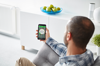 smart heating app from Wiser