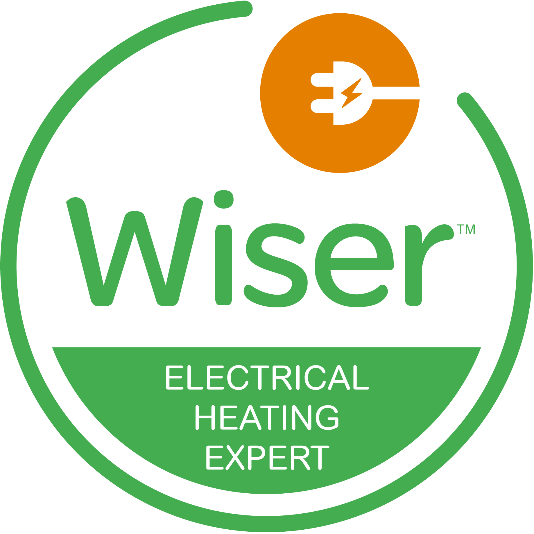 Wiser Approved Installer Electrical Heat Switch EHS Training Logo